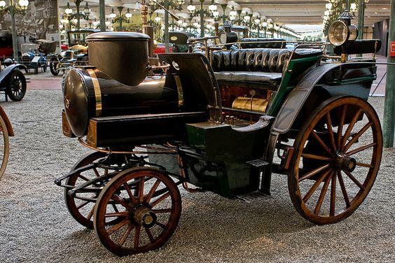 Steam Pre-auto Powered Cart, France 1769