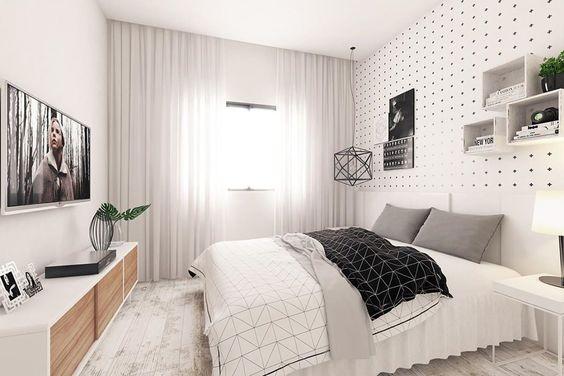 ◣◣ Projeto @andrade.olivier para o quarto de um jovem que curte uma decor mais leve. O design nórdico prima pela simplicidade dos elementos soltos e das tonalidades claras que inspiram leveza. No piso, o Ecopatina da @decortiles e luminárias da @cmaisd.    #escandinavo #designescandinavo #scandinavian #arquitetura #decor #design #projeto #decoração #interiorstyle #instagram #archilovers #instadecor #instahome #architecture #interiors #homedecor #home #love    #andradeolivier…