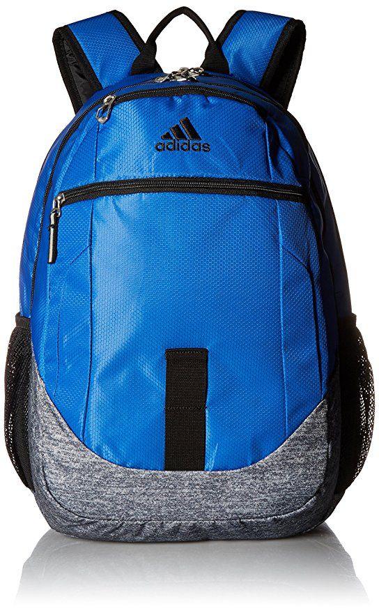 Amazon.com: adidas Foundation Iv Backpack, Onix Jersey/Dark Blue ...