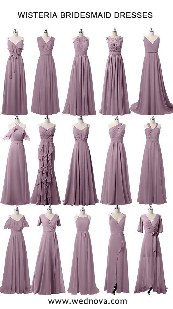 Wisteria bridesmaid dresses cheap on a