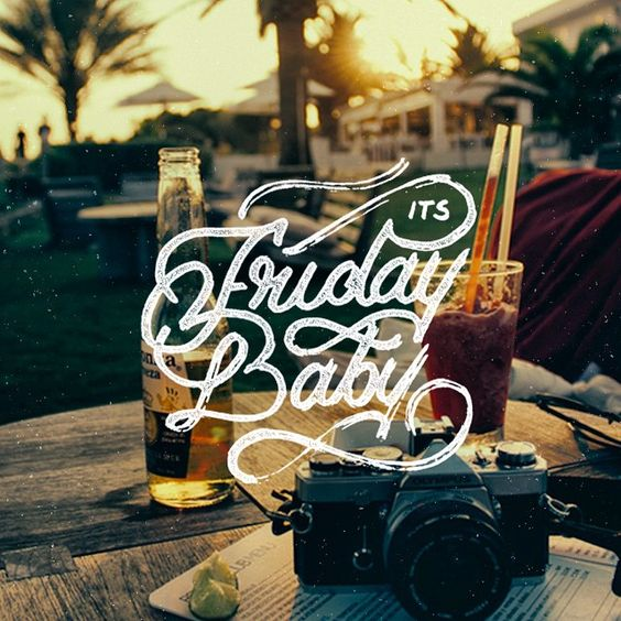 Its Friday Baby - Happy Friday #friday #lettering #strengthinletters #thedailytype #letters #typeinspiration #slowroastedco #goodtype #handtype #handmadefont #tbks #theboredkids #relax #havefun #tgif #handlettering #ligaturecollective #handtype #baby #fridaybaby
