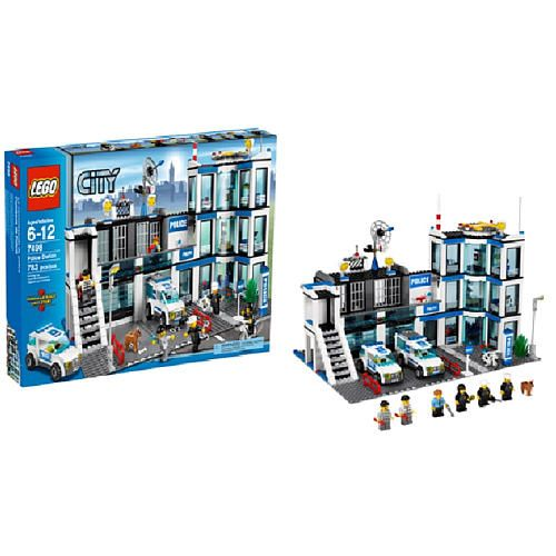 Lego City Police Station 7498 Instructions 93247 Movieweb