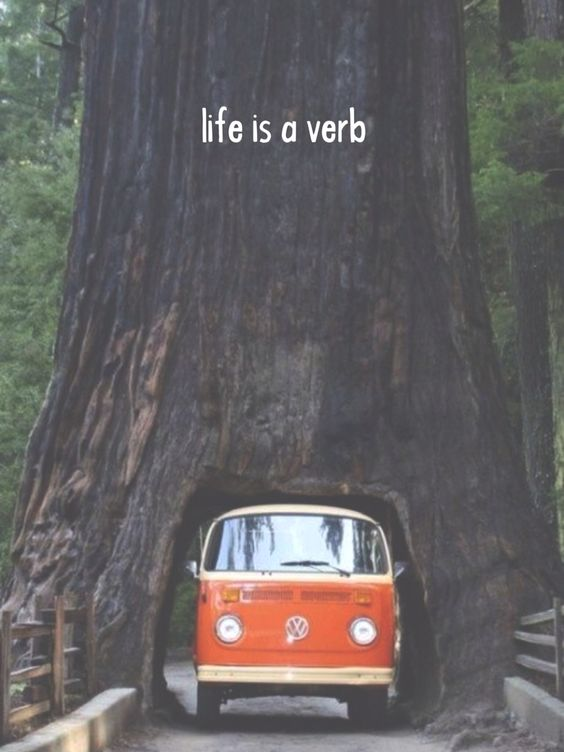 Life is a verb. -j