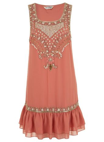 INSPIRED BY Pink Smock Dress - Going Out Dresses  - Dress Shop