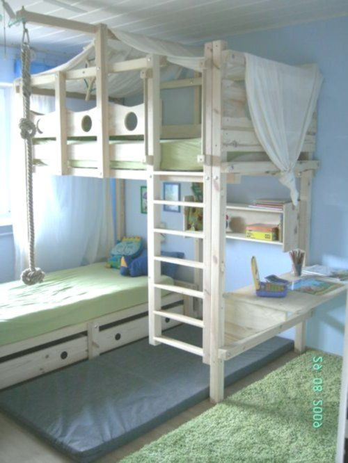 Hochbett Kinderbett Etagenbett Kinderbett Abenteuerbett