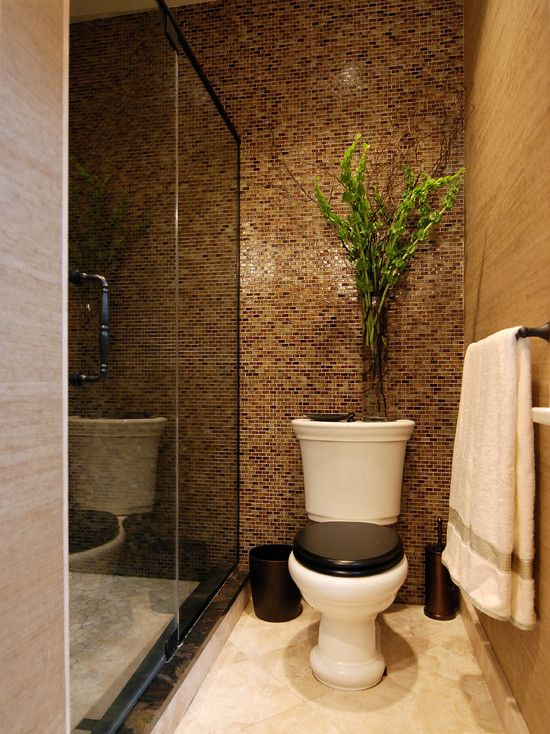 Bathroom small toilet rooms design pictures remodel for Small wc design ideas
