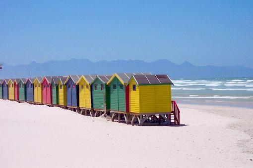 Muizenberg | False Bay | Kapstadt in Südafrika