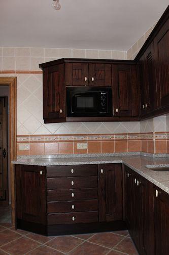 Dise o de cocinas dise o de cocinas en chinchon madera for Diseno de cocinas madrid