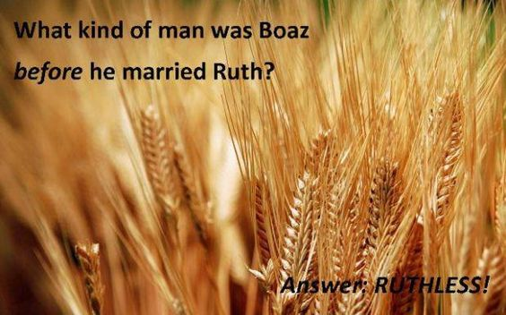 BOAZ: Alacrity, quick.  Boaz was a wealthy man of Bethlehem and the husband of Ruth. He was the father of Obed and great-grandfather of David.