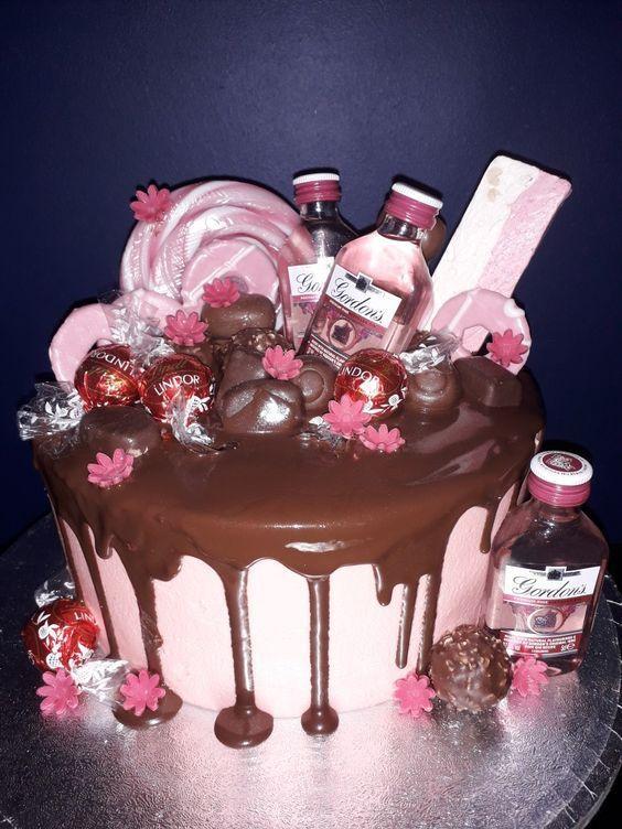 Miraculous Meliflua Pastel Happy Bristhday 21St Birthday Cakes 18Th Funny Birthday Cards Online Necthendildamsfinfo