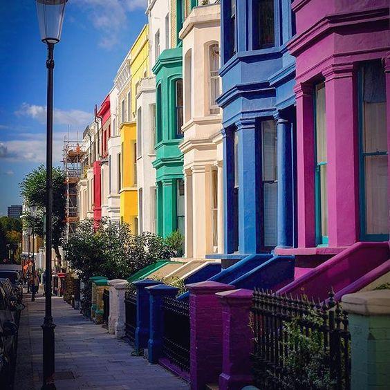 Portobello road in Notting Hill, London, UK. Photo by: @alanisko Explore. Share. Inspire: #earthfocus #followback #earth #beautifulpic