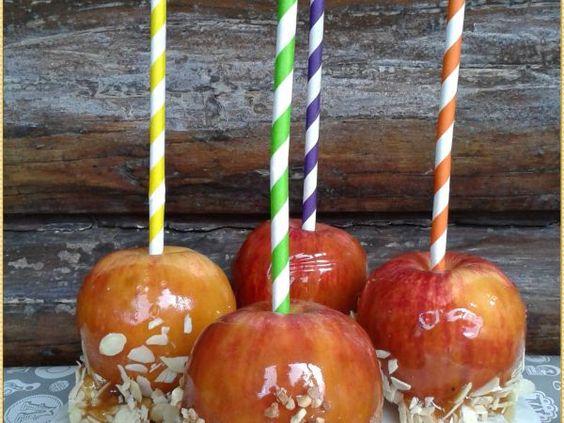 Manzanas de caramelo otoñales, Receta por LaCupcakeira - Petitchef