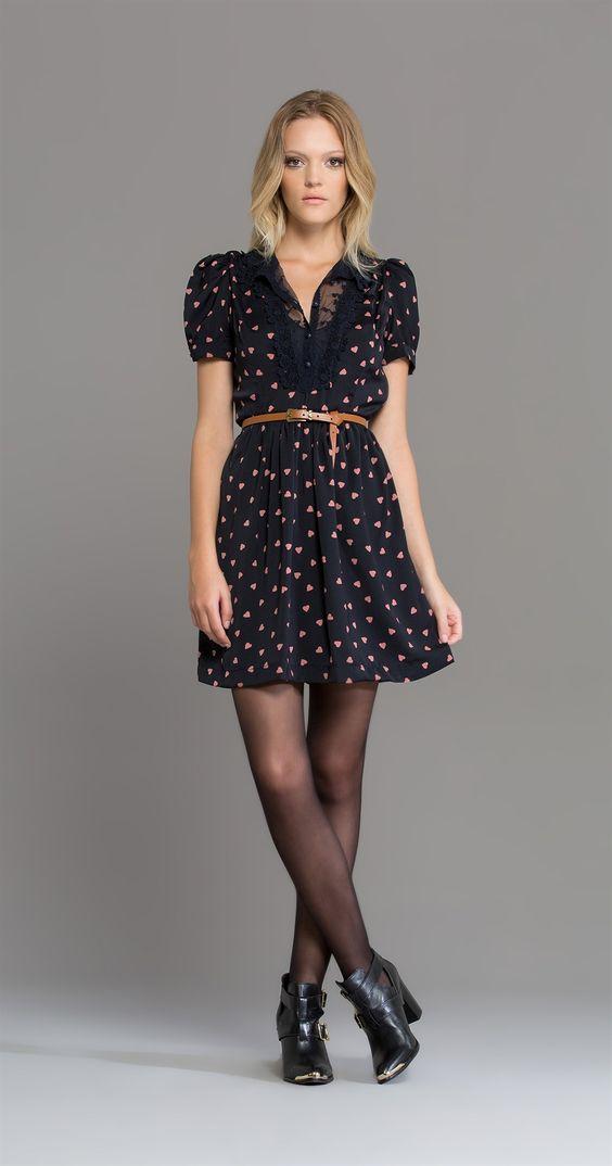 Vestido Love Renda | Lookbook | Antix Store olha essa Botinha