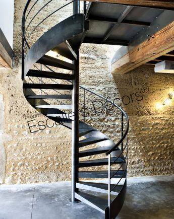 Pin By Art Pallet Furniture✓ On Metal Furniture Stairway | Painting Metal Spiral Staircase | Handrail | Iron | Stair Treads | Steel | Staircase Kit