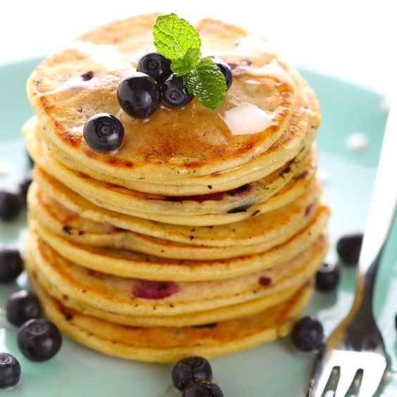 Boost your workout out or just kick start your day with these potent protein pancakes.