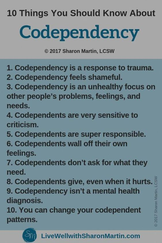 Facts about Codependency #codependency #NewHealthTips
