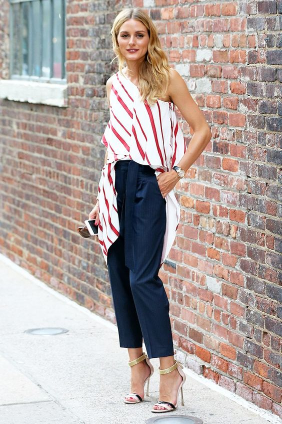 Olivia+Palermo+Wore+7+Perfect+Outfits+in+One+Weekend+via+@WhoWhatWearUK