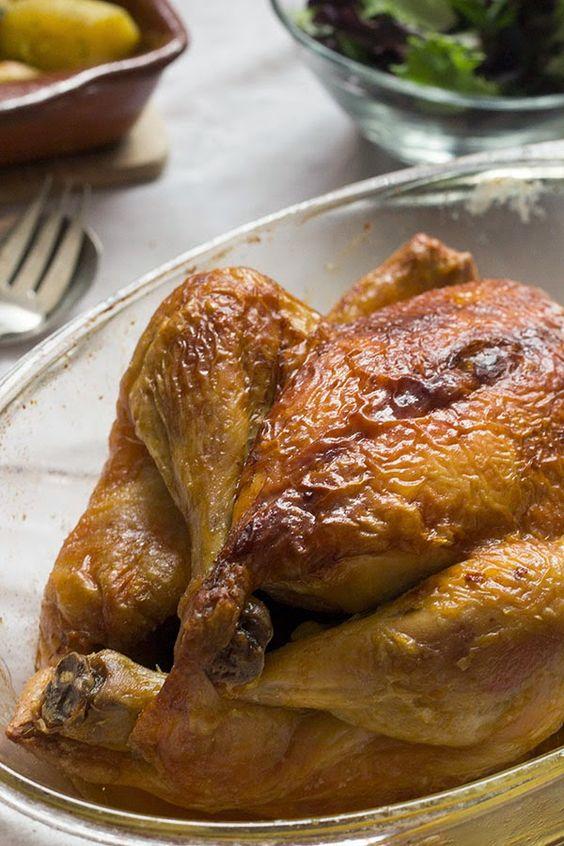 2Mandarinas en mi cocina: Cómo asar un pollo. Pollo asado delicioso!