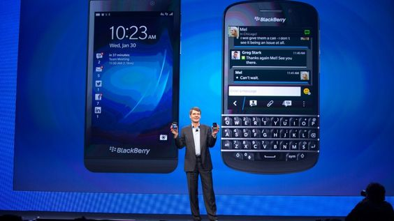 BlackBerry admits iOS, Android are contributing to its global demise | BlackBerry's latest regulatory filing paves a dark road for the company's future in the U.S. and around the world. Buying advice from the leading technology site