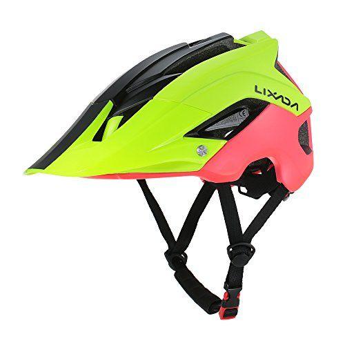 Lixada Mountain Bike Helmet Ultralight Adjustable Mtb Cycling Bicycle Helmet Men Women Sports Outdoor Safety Helmet With 13 Vents Yellow Red Black For Sale Mountain Bike Helmets Cool Bike Helmets Bicycle