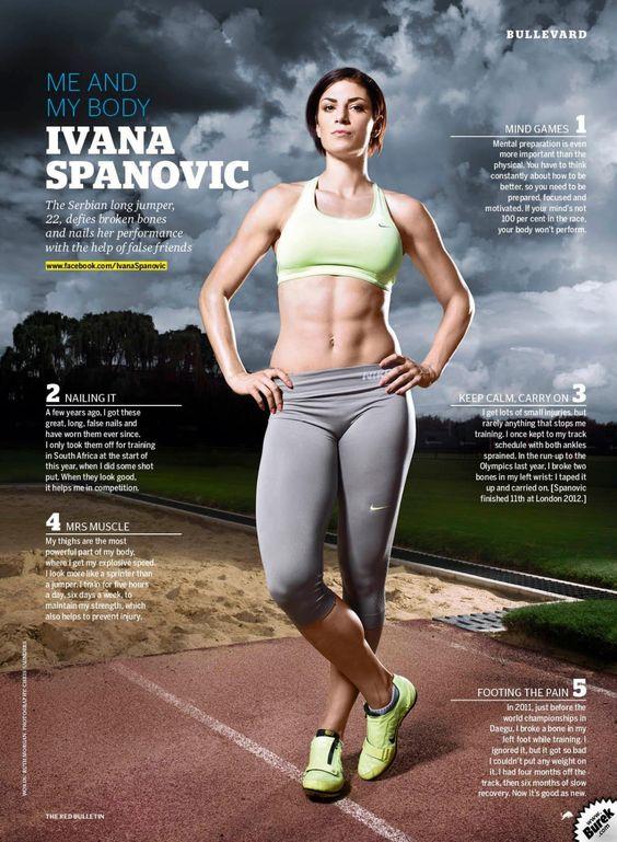 Ivana Španović | hot strong legs | Pinterest | Search and Google Legs