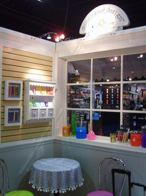 Doodlebug Designs had a fun corner display at #CHAshow (Photo courtesy of Country Woman)