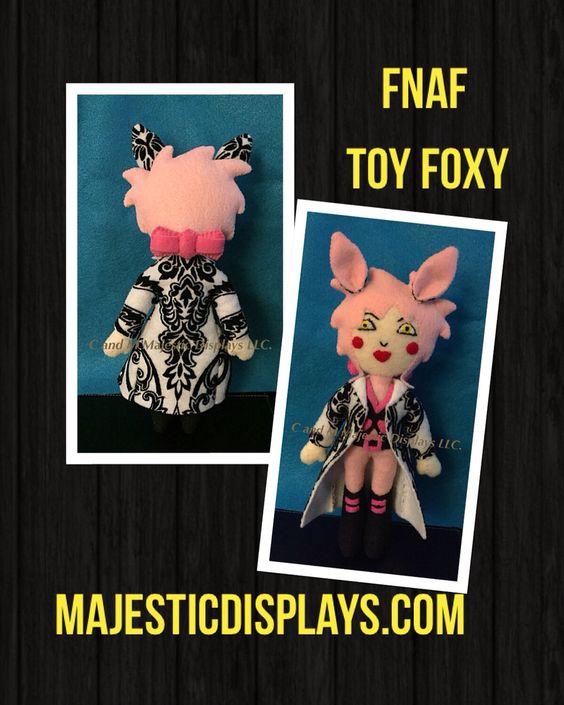 FNAF Toy Foxy #Plushies #sacanime #FnaF #fivenightsatfreddys #fnaffandom