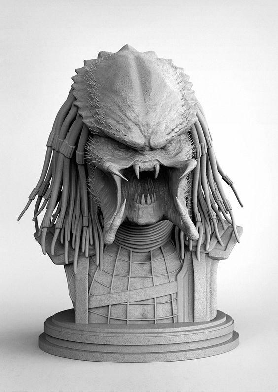 Predator wip by sancient on DeviantArt