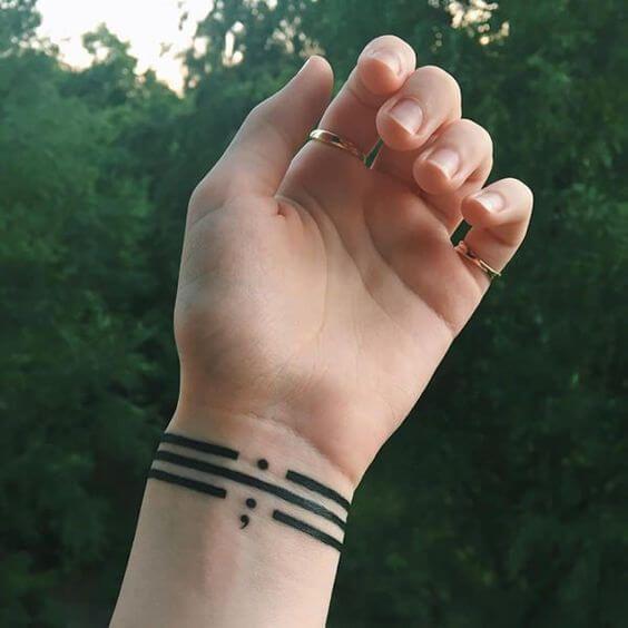 50 Semicolon Tattoos For Women Tattoos For Women Semicolon Tattoo Trendy Tattoos