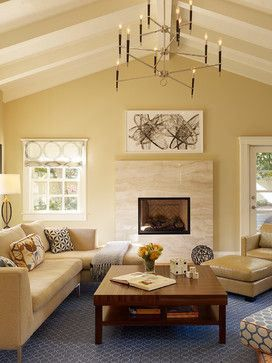 Best benjamin moore warm neutral paint colours yellow and for Neutral green living room