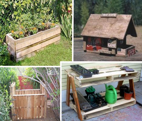 Art of upcycling 20 diy wood pallet reuse project ideas for Outdoor wood projects ideas