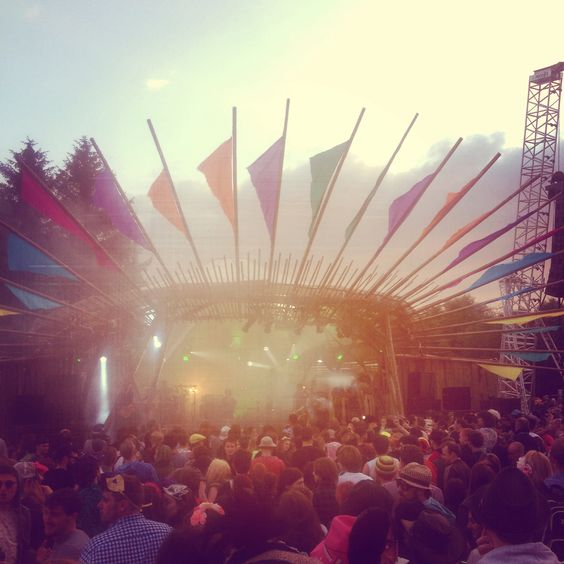 Body & Soul Main Stage 2014... Gary Numan was on I think