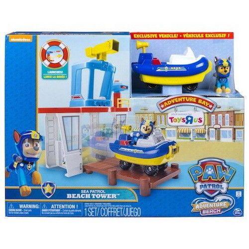 Quatang Gallery- Paw Patrol Adventure Bay Sea Patrol Beach Tower Playset Nickelodeon Nib Paw Patrol Playset Paw Patrol Playset