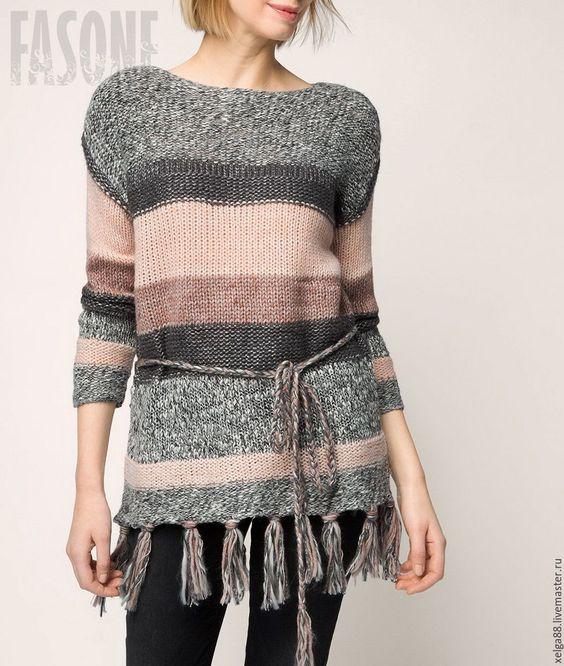 """Купить Свитер женский вязаный """"Пастила"""" - свитер вязаный свитер, свитер женский свитер"""