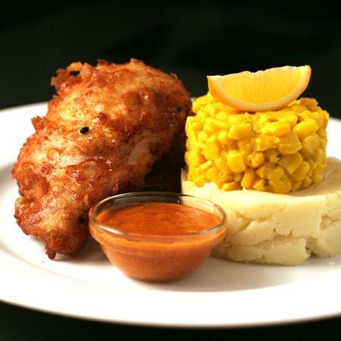 Buttermilk-Beer Sous Vide Fried Chicken & Paprika Gravy
