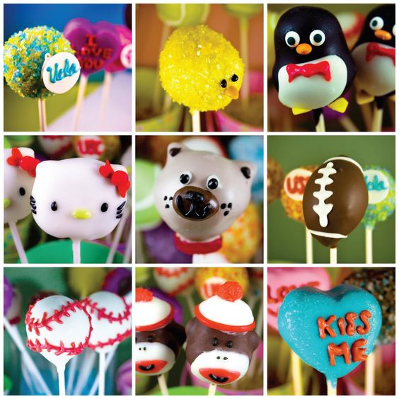 cute all ocasion pop cakes, must try and make these