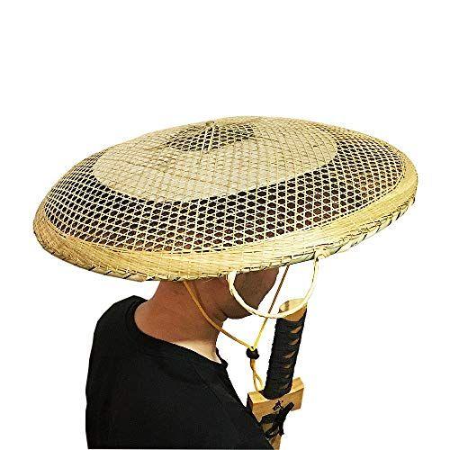 Sunnyhill Bamboo Japanese Hat Samurai Hat Cosplay Asian Hat Dia Of 21 6 Inches Sunny Hill Hats Samurai Japanese