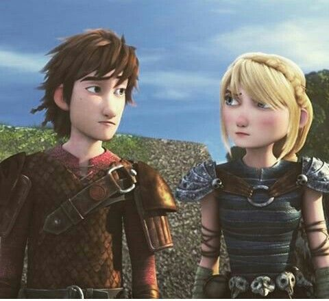 Hiccup and astrid in race to the edge  HOW TO TRAIN YOUR DRAGON