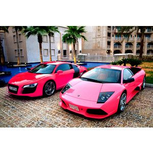 Pink Dream Cars