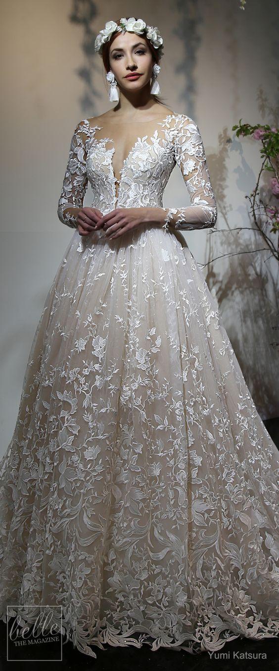 amazing Yumi Katsura Wedding Dress Collection Spring 2019