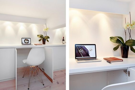 White Loft Estocolmo: Cor branca na decoração | bim.bon | bim.bon