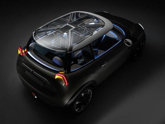 MINI Rocketman Concept Car.