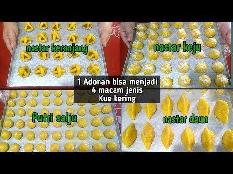 Resep Kue Nastar Lembut 1 Adonan Bisa Menjadi 4 Macam Jenis Kue Kering Youtube Resep Kue Nastar Kue Kering