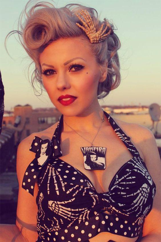Tendance coiffure 2015 - vintage