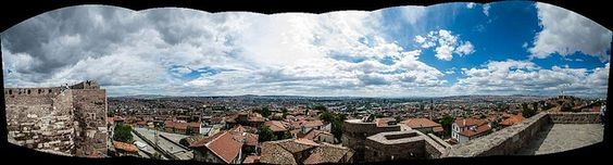 Ankara Castle Panorama by Timur Yalçın, via Flickr