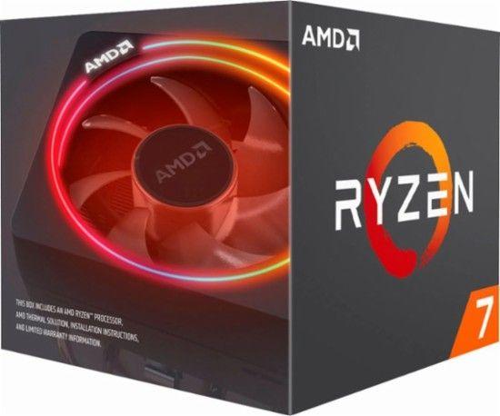 Amd Ryzen 2700x Octa Core 3 7 Ghz Desktop Processor Front Zoom Amd Processor Computer Processors