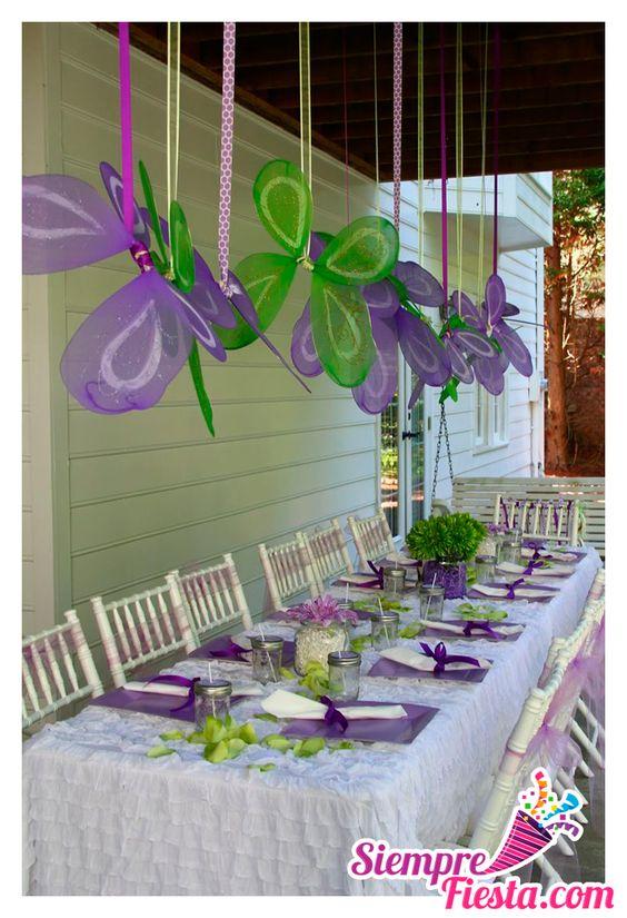 Ideas para fiesta de cumplea os de campanita tinkerbell - Articulos sobre decoracion ...