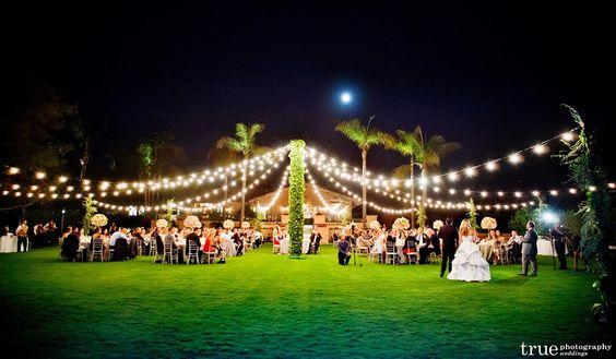Rancho Santa Fe CA Wedding Venues | Rancho Valencia - Weddings | Del Mar Wedding Venues