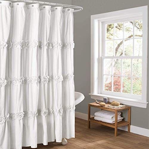 Attractive Farmhouse Shower Curtain Lush Decor Farmhouse Shower Curtain
