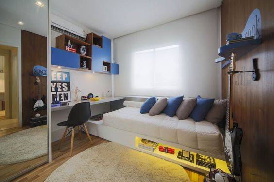 Quartos design de interiores and interiores on pinterest for Jugendzimmer young users